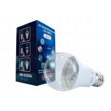 UV Dezenfeksiyon LED Ampül 2 IN 1